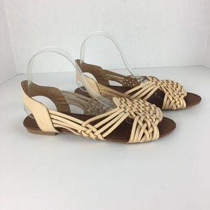 Qupid woven sandals 9